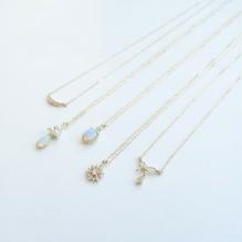 10K Yellow Gold, Diamond, Opal, Freshwater Pearl