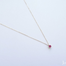18K Yellow Gold, Ruby
