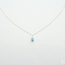18K Yellow Gold, Akoya Sea Pearl, Turquoise